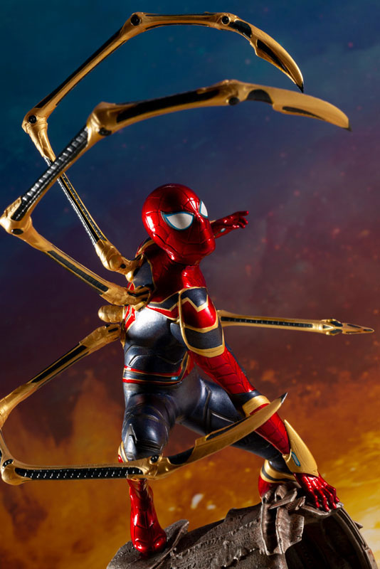 ARTFX+ Avengers: Infinity War アイアン・スパイダー -INFINITY WAR- コトブキヤ フィギュアが予約開始! 1004hobby-spidy-IM001