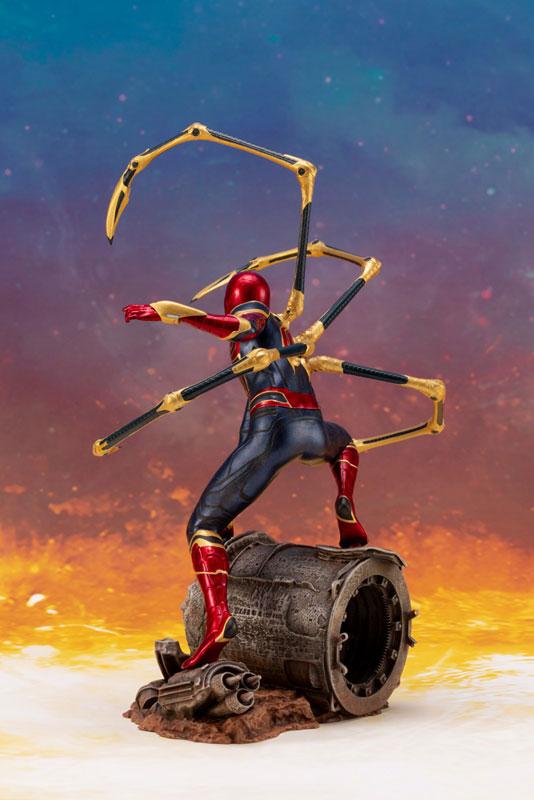 ARTFX+ Avengers: Infinity War アイアン・スパイダー -INFINITY WAR- コトブキヤ フィギュアが予約開始! 1004hobby-spidy-IM004