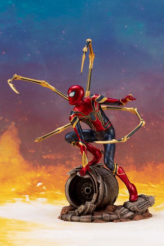 ARTFX+ Avengers: Infinity War アイアン・スパイダー -INFINITY WAR- コトブキヤ フィギュアが予約開始! 1004hobby-spidy-IM005