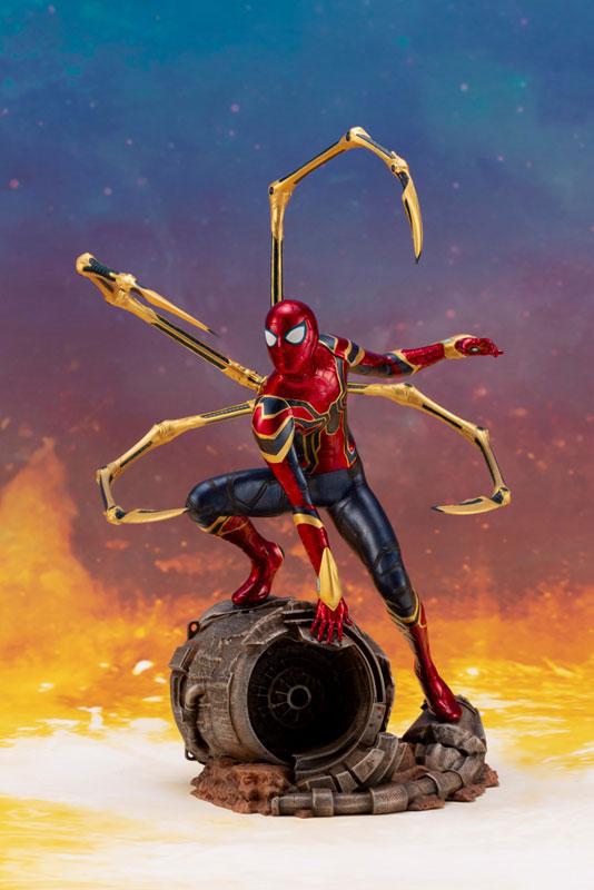 ARTFX+ Avengers: Infinity War アイアン・スパイダー -INFINITY WAR- コトブキヤ フィギュアが予約開始! 1004hobby-spidy-IM006