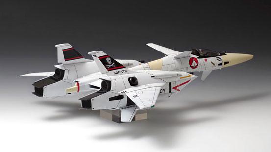 超時空要塞マクロス Flash Back 2012 VF-4 ライトニングIII[DX版] プラモデルが予約開始! 1017hobby-vf4-IM001