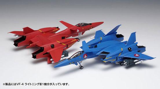超時空要塞マクロス Flash Back 2012 VF-4 ライトニングIII[DX版] プラモデルが予約開始! 1017hobby-vf4-IM006