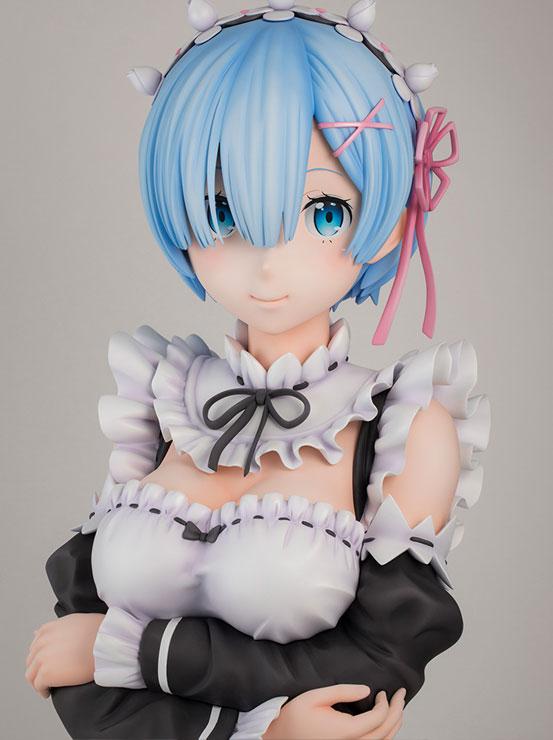 2月14日まで!Re:ゼロから始める異世界生活 レム 1/1 胸像フィギュア フィギュアがF:NEX限定で予約開始! 1018hobby-rezero-IM002