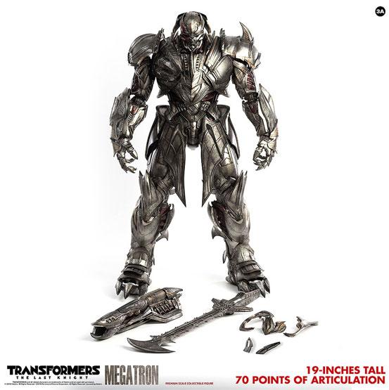 トランスフォーマー/最後の騎士王 MEGATRON(メガトロン) 通常版/DX版 可動フィギュアが予約開始! 1023hobby-megat-IM001