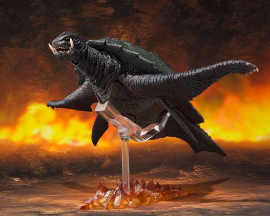 S.H.MonsterArts ガメラ(1999) 『ガメラ3 邪神〈イリス〉覚醒』 可動フィギュアが登場!飛行形態も再現可能! 1027hobby-gamera-IM005