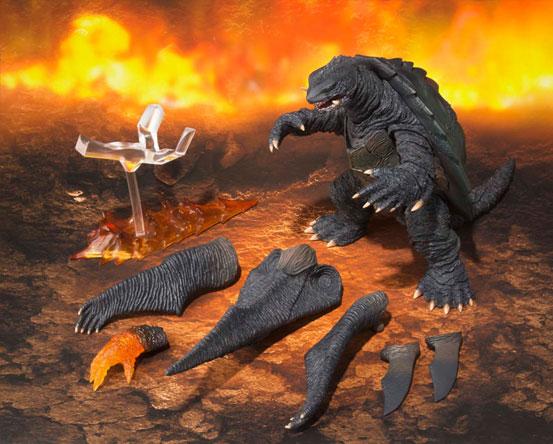 S.H.MonsterArts ガメラ(1999) 『ガメラ3 邪神〈イリス〉覚醒』 可動フィギュアが登場!飛行形態も再現可能! 1027hobby-gamera-IM006