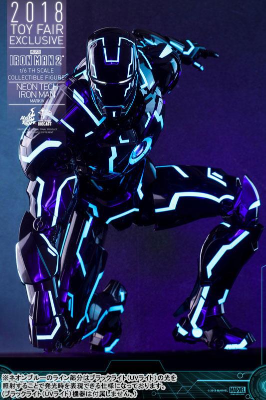 ムービー・マスターピース DIECAST アイアンマン・マーク4 ネオンテック版 可動フィギュアがみあみ限定で予約開始! 1116hobby-ironman-IM002