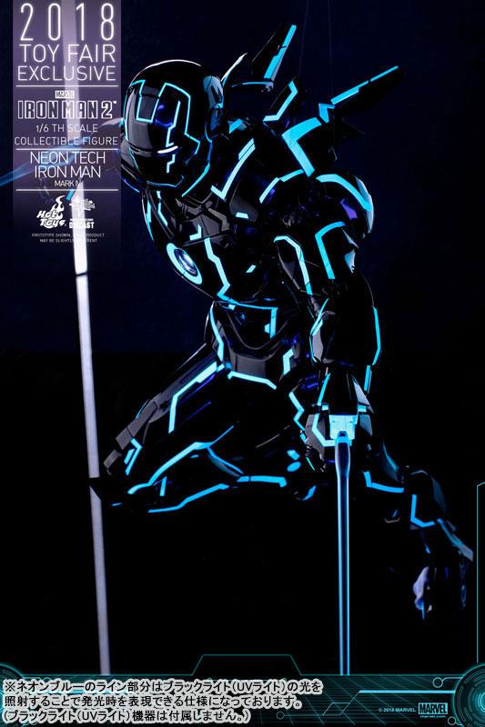 ムービー・マスターピース DIECAST アイアンマン・マーク4 ネオンテック版 可動フィギュアがみあみ限定で予約開始! 1116hobby-ironman-IM003