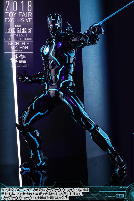 ムービー・マスターピース DIECAST アイアンマン・マーク4 ネオンテック版 可動フィギュアがみあみ限定で予約開始! 1116hobby-ironman-IM004