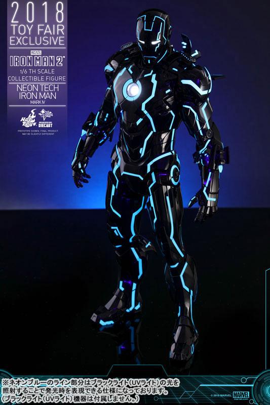 ムービー・マスターピース DIECAST アイアンマン・マーク4 ネオンテック版 可動フィギュアがみあみ限定で予約開始! 1116hobby-ironman-IM005