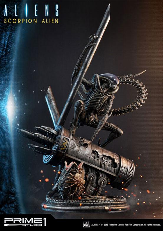 ダークホースコミックス エイリアン: スコーピオンエイリアン プライム1スタジオ スタチュー が予約開始! 1128hobby-aliens-IM007