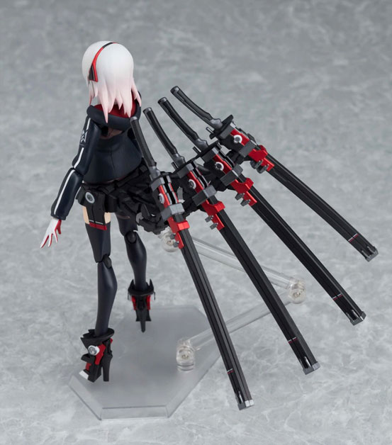 武装×女子高生×figma 第四弾!四本の刀を装備した「figma 肆」可動フィギュアが予約開始! 1206hobby-ritu-IM005