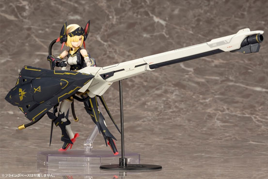 メガミデバイス「バレットナイツランチャー」プラモデルが登場!騎士をモチーフにした武装モードが再現可能! 1218hobby-megami-IM003