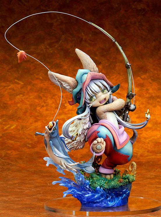 メイドインアビス「ナナチ ~ガンキマス釣り~」キューズQ フィギュアが予約開始!ダイナミックなヴィネットスタイルで立体化! 1227hobby-nanachi-IM001