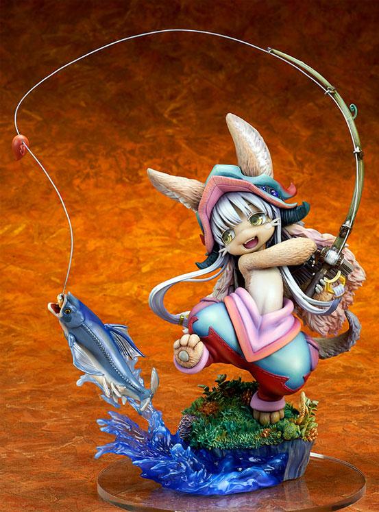 メイドインアビス「ナナチ ~ガンキマス釣り~」キューズQ フィギュアが予約開始!ダイナミックなヴィネットスタイルで立体化! 1227hobby-nanachi-IM002
