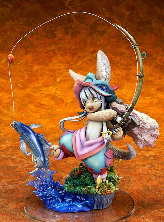 メイドインアビス「ナナチ ~ガンキマス釣り~」キューズQ フィギュアが予約開始!ダイナミックなヴィネットスタイルで立体化! 1227hobby-nanachi-IM003