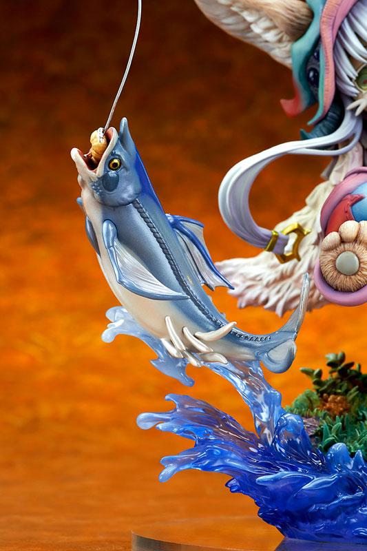 メイドインアビス「ナナチ ~ガンキマス釣り~」キューズQ フィギュアが予約開始!ダイナミックなヴィネットスタイルで立体化! 1227hobby-nanachi-IM007