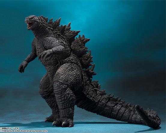 S.H.MonsterArts「ゴジラ(2019)」『ゴジラ キング・オブ・モンスターズ』 バンダイが登場! 1228hobby-godzila-IM001
