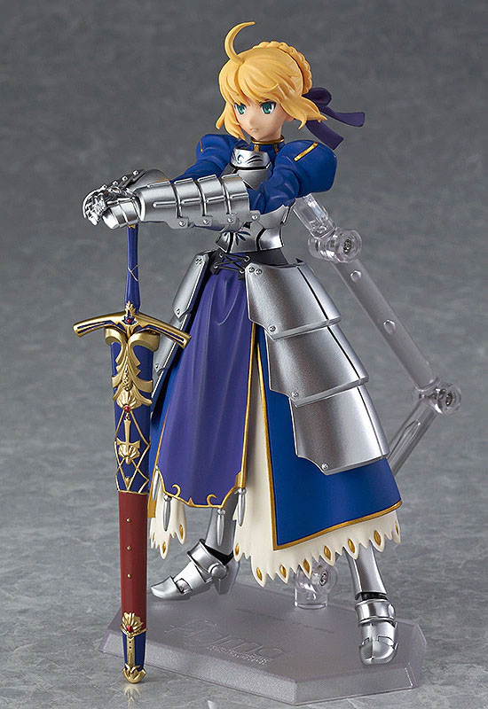 figma Fate/stay night セイバー2.0 可動フィギュアが再販予約開始!剣の両手持ちが可能! 0108hobby-saber-IM001