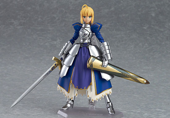 figma Fate/stay night セイバー2.0 可動フィギュアが再販予約開始!剣の両手持ちが可能! 0108hobby-saber-IM002