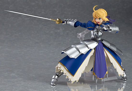 figma Fate/stay night セイバー2.0 可動フィギュアが再販予約開始!剣の両手持ちが可能! 0108hobby-saber-IM004