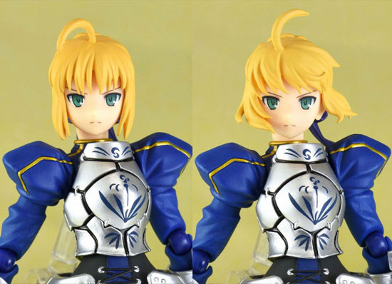 figma Fate/stay night セイバー2.0 可動フィギュアが再販予約開始!剣の両手持ちが可能! 0108hobby-saber-IM005
