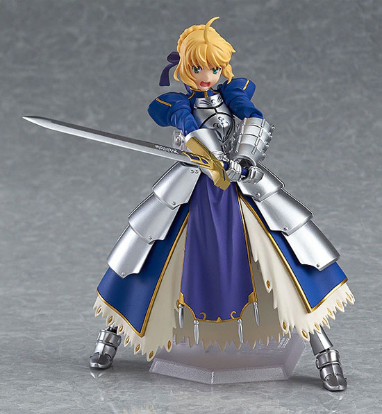 figma Fate/stay night セイバー2.0 可動フィギュアが再販予約開始!剣の両手持ちが可能! 0108hobby-saber-IM006