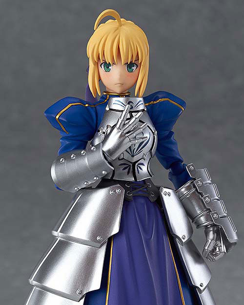 figma Fate/stay night セイバー2.0 可動フィギュアが再販予約開始!剣の両手持ちが可能! 0108hobby-saber-IM007