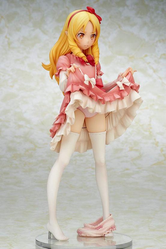 エロマンガ先生 山田エルフ キューズQ フィギュアが予約開始!スカートをたくし上げたポーズで立体化! 0110hobby-elf-IM003
