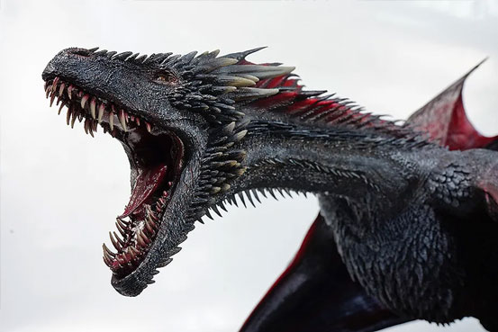 ゲーム・オブ・スローンズ DROGON(ドロゴン) threezero フィギュアが予約開始!重量約10kgのど迫力サイズ! 0110hobby-got-IM005