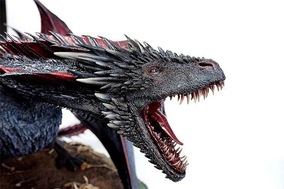 ゲーム・オブ・スローンズ DROGON(ドロゴン) threezero フィギュアが予約開始!重量約10kgのど迫力サイズ! 0110hobby-got-IM006