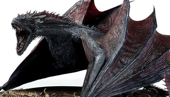 ゲーム・オブ・スローンズ DROGON(ドロゴン) threezero フィギュアが予約開始!重量約10kgのど迫力サイズ!