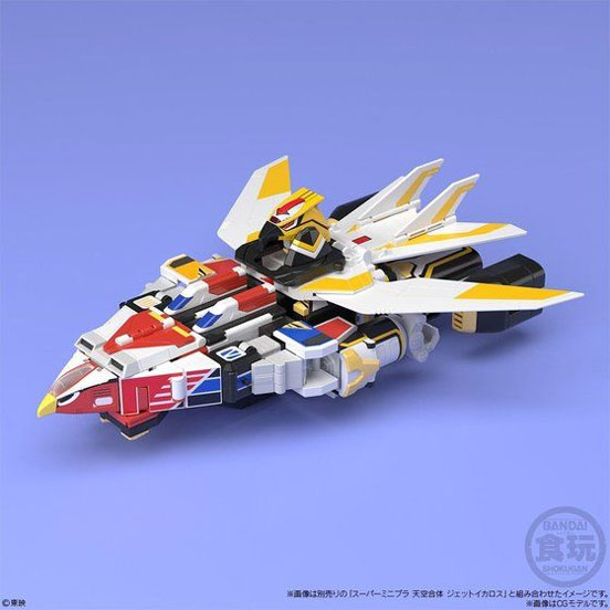 スーパーミニプラ 鳥人戦隊ジェットマン 超弩級 ジェットガルーダ/天空合体 ジェットイカロス が予約開始! 0121hobby-minipla-IM004