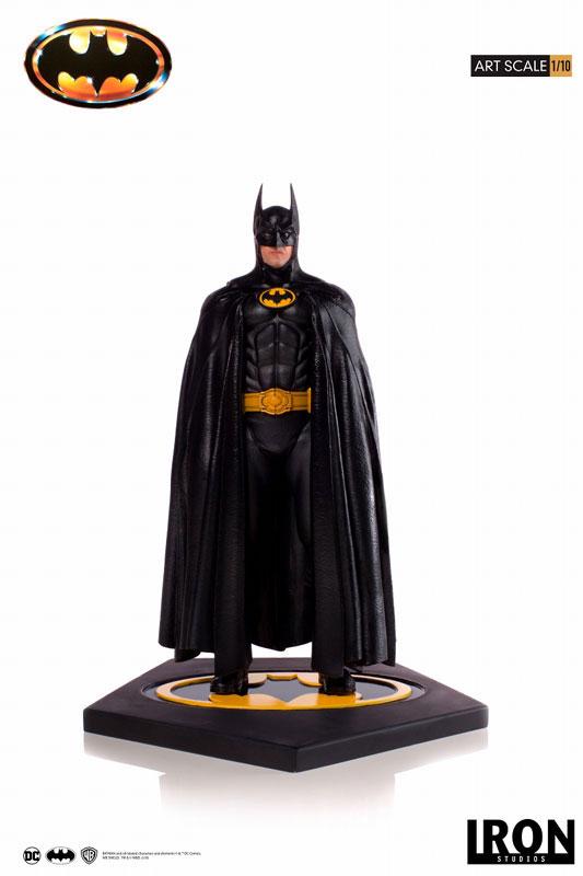 バットマン 1989 ティム・バートン/ バットマン 1/10 アートスケール アイアンスタジオ スタチューが登場! 0122hobby-batman-IM001