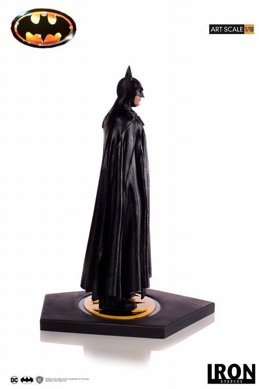 バットマン 1989 ティム・バートン/ バットマン 1/10 アートスケール アイアンスタジオ スタチューが登場! 0122hobby-batman-IM002
