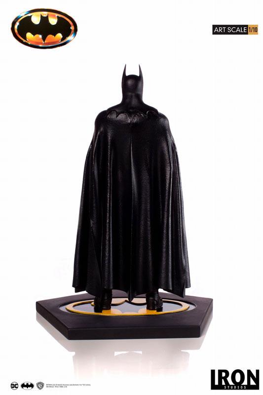 バットマン 1989 ティム・バートン/ バットマン 1/10 アートスケール アイアンスタジオ スタチューが登場! 0122hobby-batman-IM003
