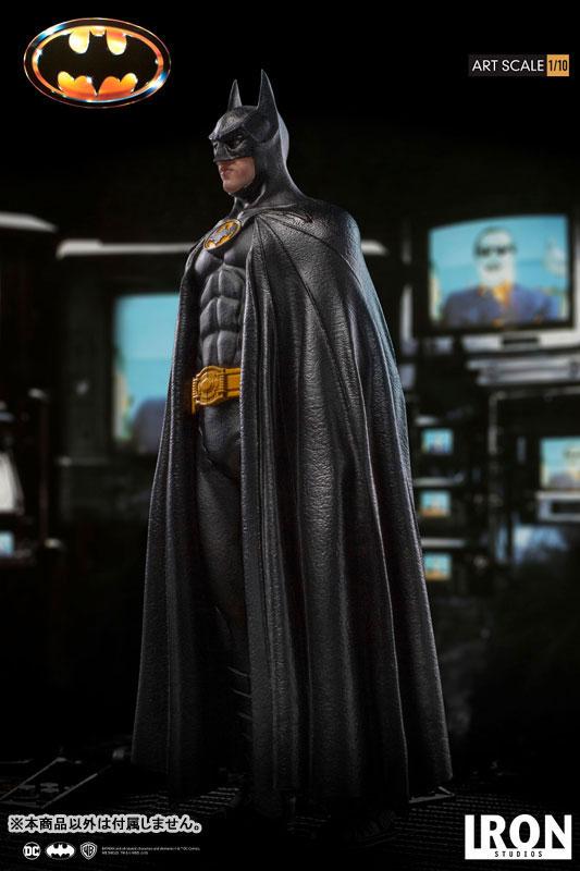 バットマン 1989 ティム・バートン/ バットマン 1/10 アートスケール アイアンスタジオ スタチューが登場! 0122hobby-batman-IM005