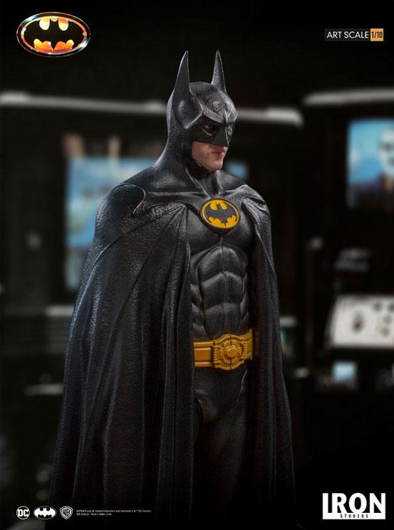 バットマン 1989 ティム・バートン/ バットマン 1/10 アートスケール アイアンスタジオ スタチューが登場! 0122hobby-batman-IM006