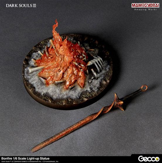 【入荷】DARK SOULS III ダークソウル3/ 篝火 Gecco 1/6スケールライトアップスタチューが登場! 0125hobby-kagaribi-IM005