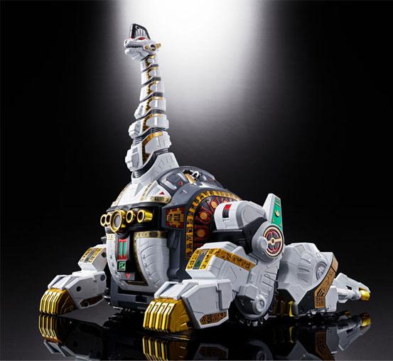 超合金魂 GX-85 恐竜戦隊ジュウレンジャー キングブラキオン バンダイが登場!全長約41cmのビッグサイズ! 0216hobby-king-IM001