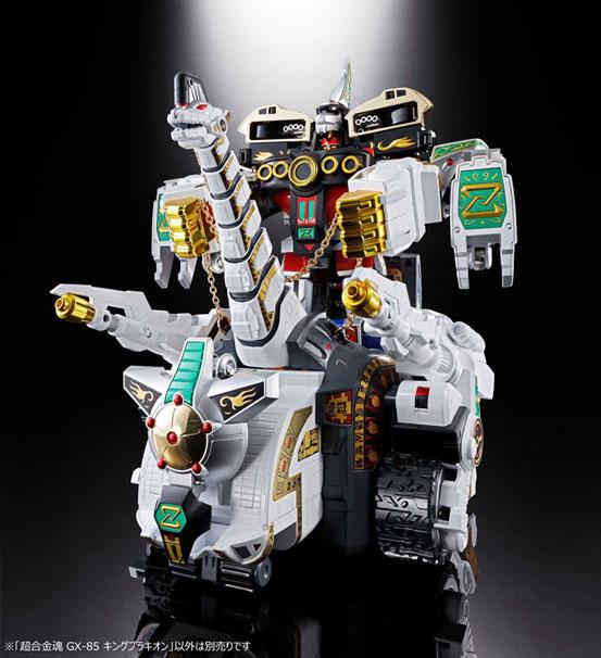 超合金魂 GX-85 恐竜戦隊ジュウレンジャー キングブラキオン バンダイが登場!全長約41cmのビッグサイズ! 0216hobby-king-IM002
