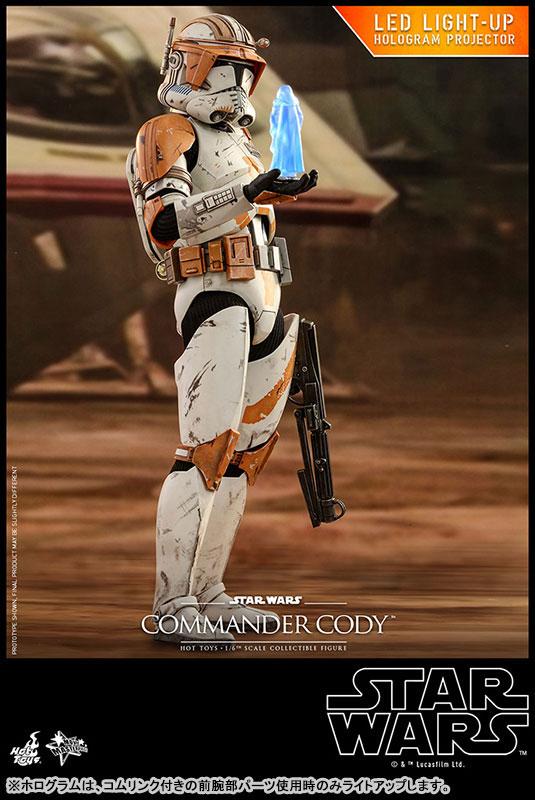 「オーダー66を実行せよ。」ムービー・マスターピース SW EP3/シスの復讐 1/6 コマンダー・コーディ 可動フィギュアが予約開始! 0218hobby-comander-IM004