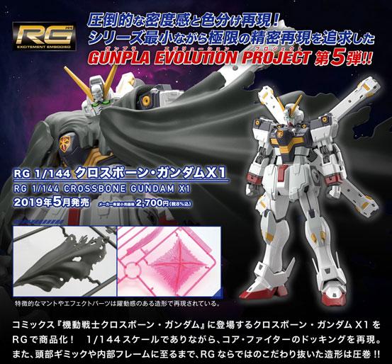 RG 1/144 クロスボーン・ガンダムX1 プラモデルの特設ページを公開!5月発売予定! 0223hobby-gunPla-IM002