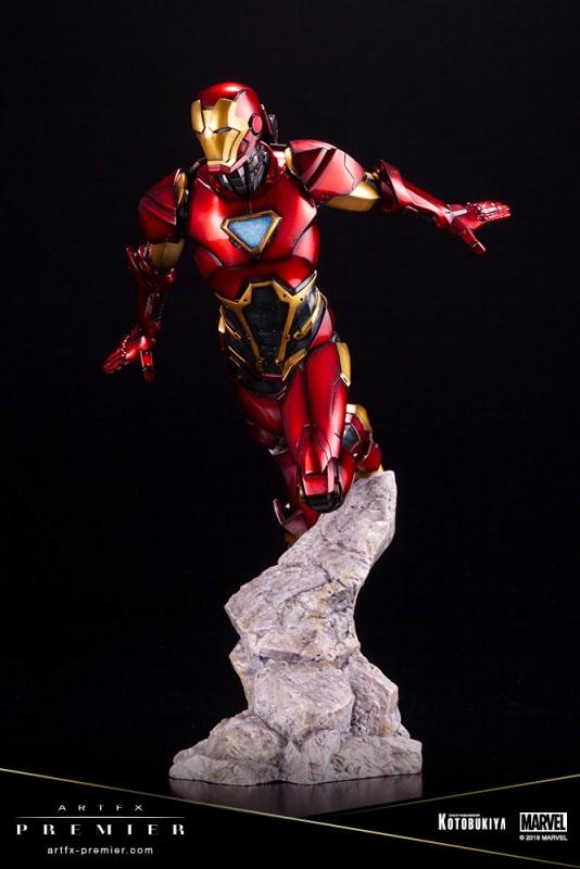 ARTFX PREMIER「アイアンマン」コトブキヤ フィギュアが予約開始!重厚感のある質感を再現! 0314hobby-ironman-IM006