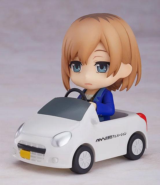 ねんどろいど「SHIROBAKO 宮森あおい」グッスマ 可動フィギュアが予約開始!ムサニロゴ入りの社用車も付属! 0314hobby-miyamori-IM005