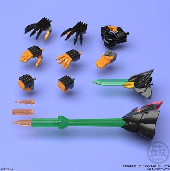 スーパーミニプラ 勇者王ガオガイガー6 バンダイが再販予約開始!「ジェネシックガオガイガー」がラインナップ! 0318hobby-minipla6-IM005