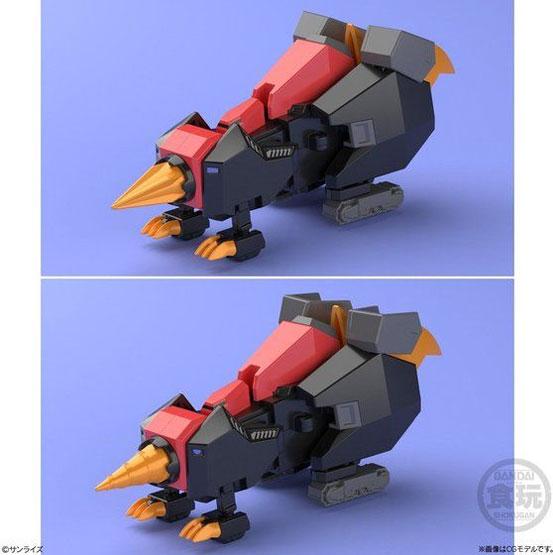 スーパーミニプラ 勇者王ガオガイガー6 バンダイが再販予約開始!「ジェネシックガオガイガー」がラインナップ! 0318hobby-minipla6-IM006
