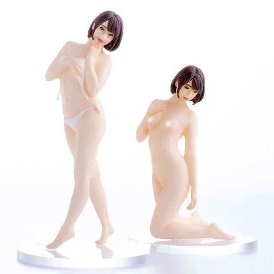 【入荷】PLAMAX Naked Angel 1/20 戸田真琴 プラモデルが登場!2種のポージングで立体化! 0328hobby-makoto-IM001