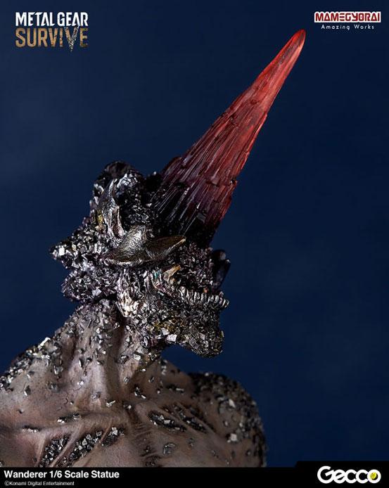 メタルギア サヴァイブ/ ワンダラー Gecco 1/6スケール スタチューが予約開始!頭部の結晶にはLED発光ギミックを搭載! 0408hobby-mgs-IM004