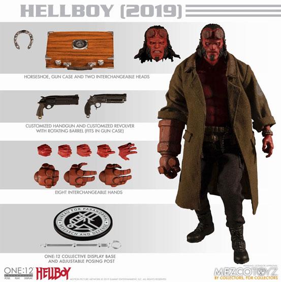 リブート映画版ヘルボーイ!ワン12コレクティブ/ HELLBOY: ヘルボーイ  可動フィギュアが予約開始! 0412hobby-hellboy-IM007